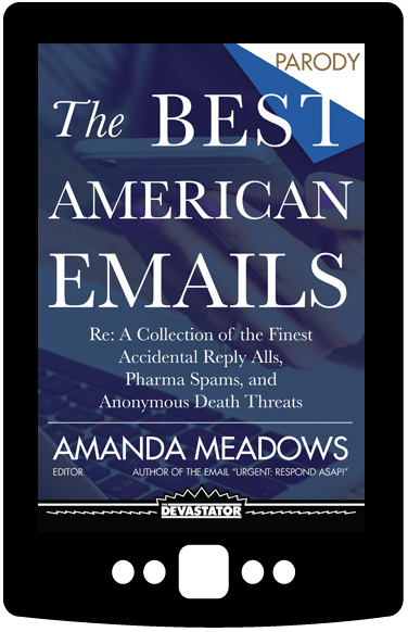 The Best American Emails (Digital Book)