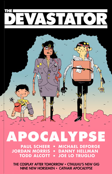 The Devastator: Apocalypse - Cover