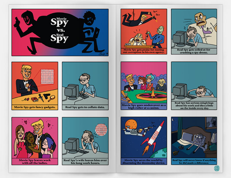Movie Spy vs. Real Spy