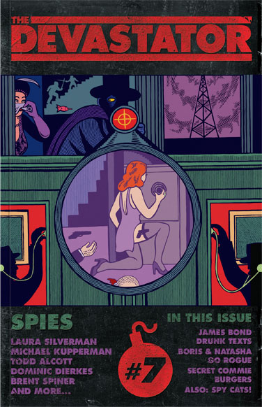 The Devastator: Spies - Cover
