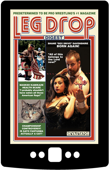 Leg Drop Digest (Digital Book)