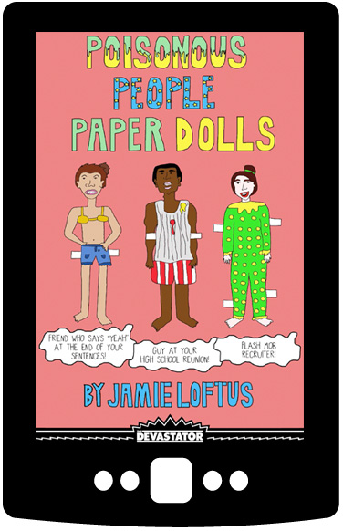 Poisonous People Paper Dolls (Digital Book)