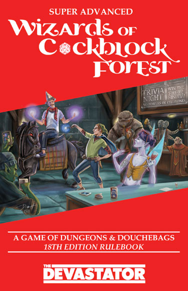Wizards of C*ckblock Forest - Cover