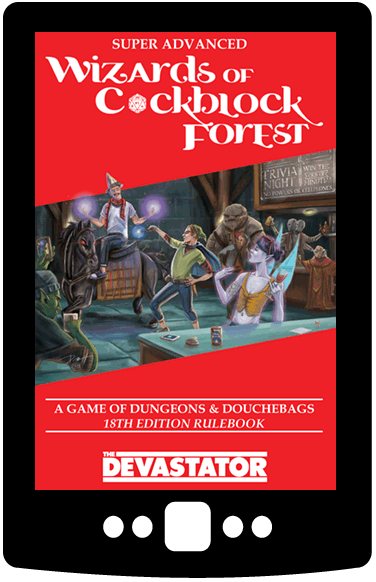 Super Advanced Wizards of Cockblock Forest (Digital Book)