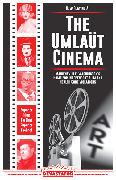 Now Playing at the Umlaüt Cinema