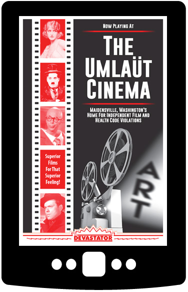 Now Playing at the Umlaüt Cinema (Digital Book)