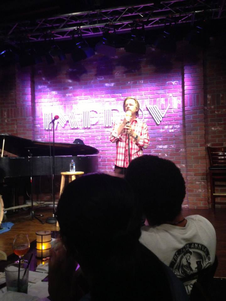 6/26/13: treated to a surprise set from David Spade!