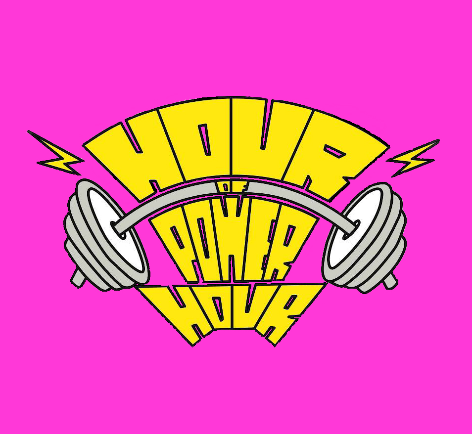 Hour of Power Hour Logo Square