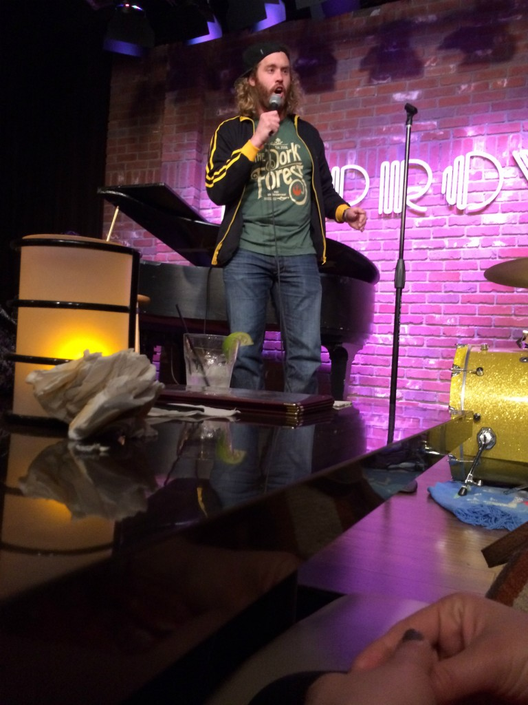 Peanut Butter and Condors: TJ Miller melting our very minds 1/23/14