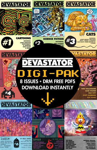 The Devastator Digi-Pak
